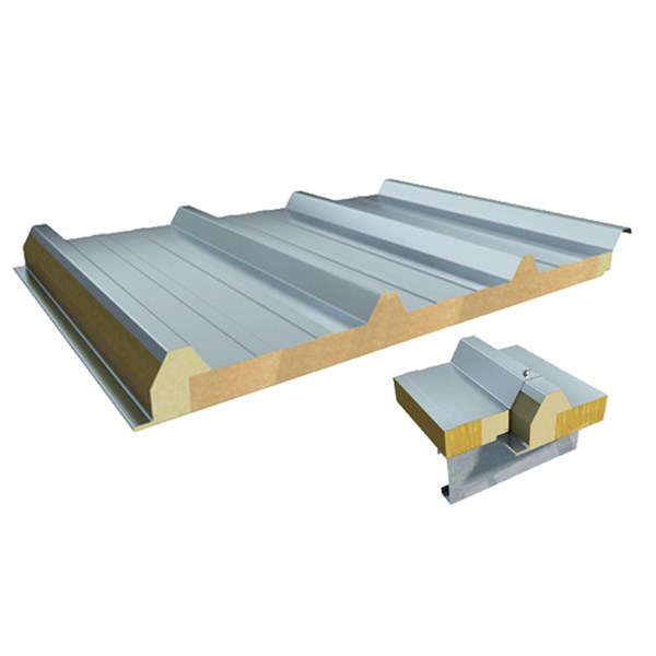Aluminium-Rockwool-Roof-Sandwich-Panel-Roofing