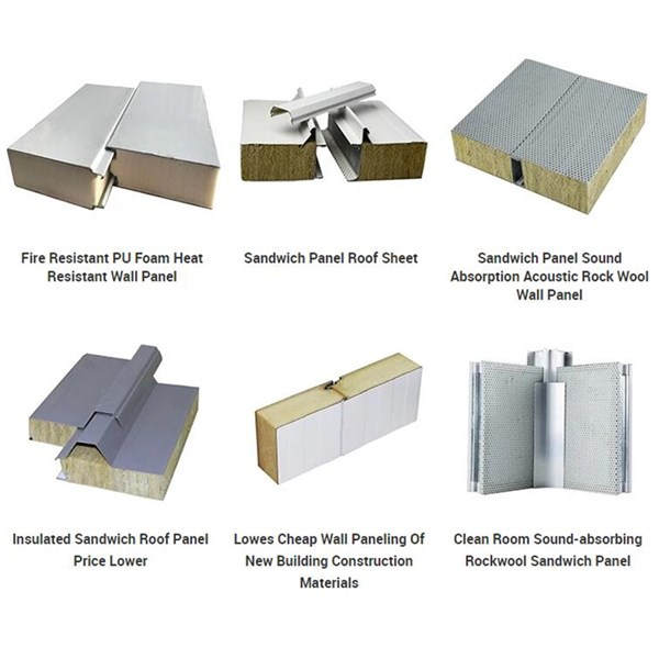 PU Sandwich Roof Panel