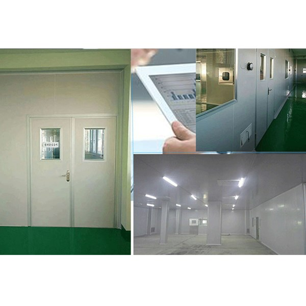 Class 100,000 electronics factory clean room project